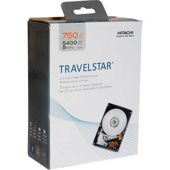 "HGST 750GB Travelstar 2.5"" SATA Mobile Hard Drive Kit"