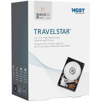 "HGST 1TB SATA Travelstar 2.5"" High Performance Mobile Hard Drive"