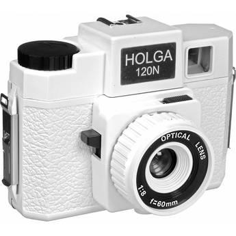 Holga 173-120  Holgawood 120N Medium Format Camera (Casablanco)