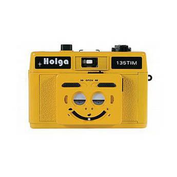Holga 135 TIM 35mm 1/2 Frame Twin/Multi-Image Camera (Yellow)