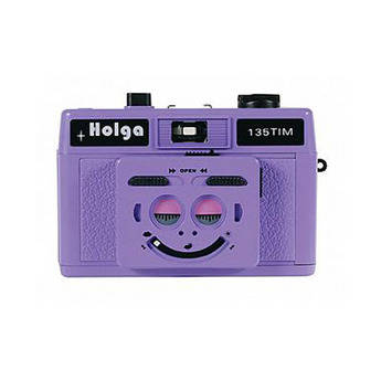 Holga 135 TIM 35mm 1/2 Frame Twin/Multi-Image Camera (Violet)
