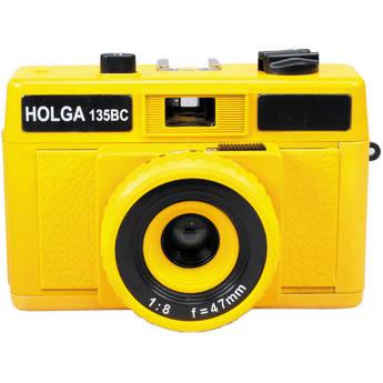 Holga HolgaGlo 135BC Glows in the Dark Camera (Solar Yellow)