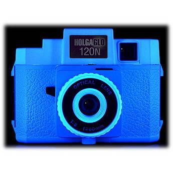 Holga Holga Glo 120N Plastic Medium Format Camera (Electric Blue)