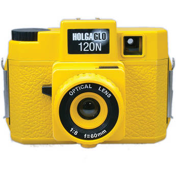 Holga HolgaGlo 120N Glows in the Dark Camera (Solar Yellow)