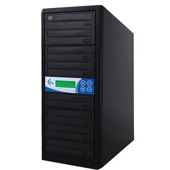 EZ Dupe 7 Target, 24X DVD/CD Duplicator (Black)