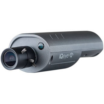 IQinVision IQeye 7 Series IQ763NI-V16 3.6MP Day/Night Megapixel Indoor IP Camera with 2.8-12mm Lens (Gray)