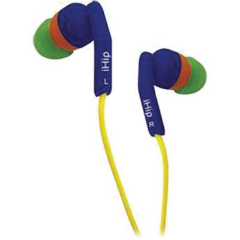 iHip IP-BLUEBOTTLE In-Ear Stereo Headphones