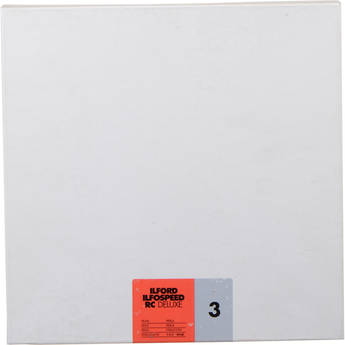 "Ilford ILFOSPEED RC DeLuxe Paper (44M Pearl, Grade 3, 10 x 10"", 100 Sheets)"