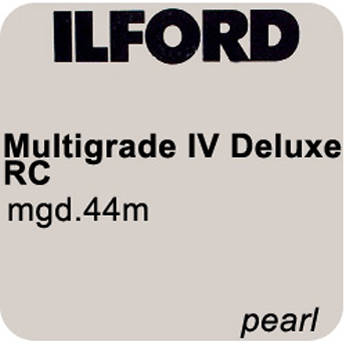 "Ilford Multigrade IV RC Deluxe MGD.44M Black & White Variable Contrast Paper (3.5"" x 500' Roll, Pearl)"