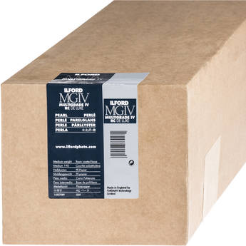 """Ilford Multigrade IV RC Deluxe MGD.44M Black & White Variable Contrast Paper (50"""" x 98' Roll, Pearl)"""