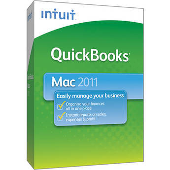 Intuit QuickBooks 2011 for Mac Software (Single User License)