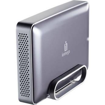 Iomega eGo Silver Desktop Hard Drive Mac Edition (2TB)