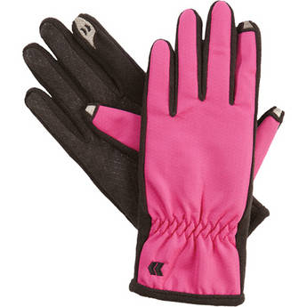 Isotoner Women's smarTouch Gloves - Ultra Plush Lined (Azalea) (Medium/Large)