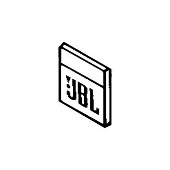 JBL 950-0007 Blank Logo for Control 25 (White)
