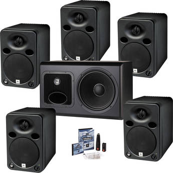 JBL LSR6325P & LSR6312SP 5.1 Surround Sound Studio Monitor Kit