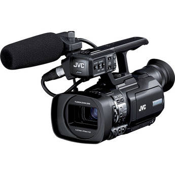 JVC GY-HM150U Compact Handheld 3-CCD Camcorder