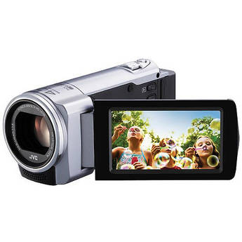 JVC GZ-E10 Full HD Everio Camcorder (PAL) (Silver)