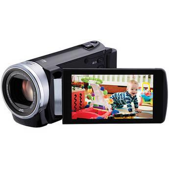 JVC GZ-E200 Full HD Everio Camcorder (PAL) (Black)