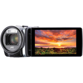 JVC GZ-GX1BE Full HD Everio Camcorder with WiFi (PAL) (Black)
