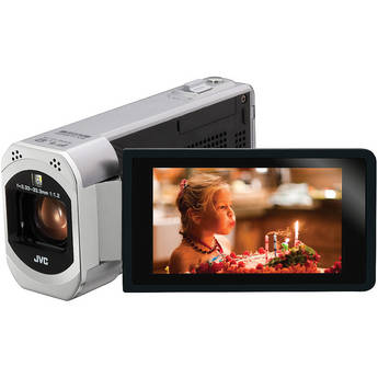 JVC GZ-VX700SE Full HD Everio Camcorder with WiFi (PAL) (Silver)