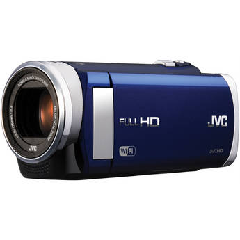 JVC GZ-EX210 Full HD Everio Camcorder with WiFi (Blue)