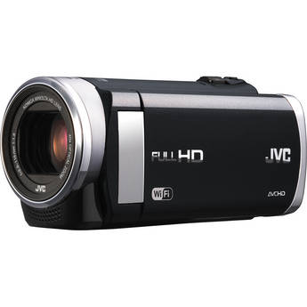 JVC GZ-EX250 Full HD Everio Camcorder with WiFi (Black)