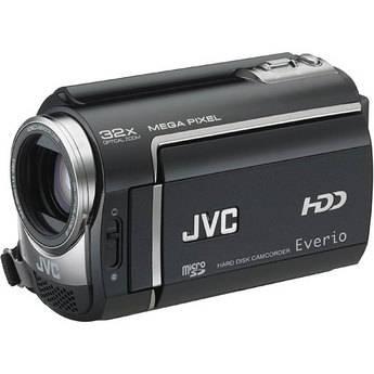JVC GZ-MG465BE Everio Hybrid 60GB HDD/Flash Memory 'PAL' Camcorder (Black)