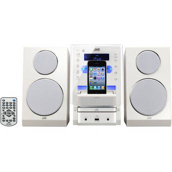 JVC UX-LP55 CD Micro Component System (White)