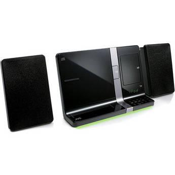 JVC UXVJ3B Shelf Audio System - Black