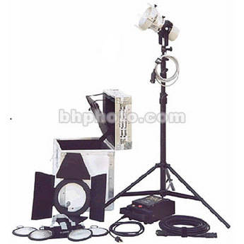 K 5600 Lighting Joker Bug 200W HMI Par One Light Kit for Anton Bauer (90-265VAC/12VDC)