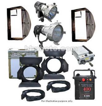 K 5600 Lighting Joker-Bug 200W/400W HMI AC/DC Combination Kit