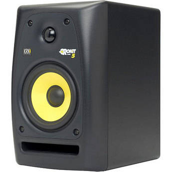 """KRK RoKit 5 G2 45W 5"""" Two-Way Active Nearfield Monitor"""
