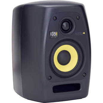 "KRK VXT4 - 45W 4"" Two-Way Active Nearfield Studio Monitor (Single)"