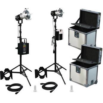 K 5600 Lighting Joker-Bug 200W/400W HMI 2 Case Combo News Kit (90-250/265VAC)