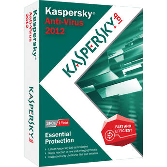 Kaspersky Anti-Virus 2012 - 3-User / 1-Year