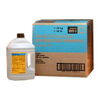 Kodak E-6 Pre-Bleach II & Replenisher for Color Slide Film - Makes 10 Liters