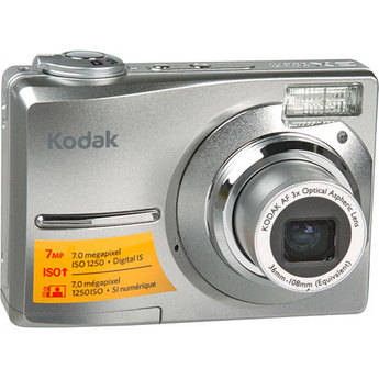 Kodak EasyShare C713 Digital Camera (Silver)