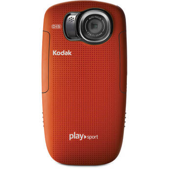 Kodak PLAYSPORT Zx5 Video Camera (Red)