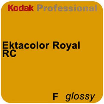 "Kodak Ektacolor Royal Generations Color Negative RC (Resin Coated) F Glossy Paper Roll - 4""x255'"