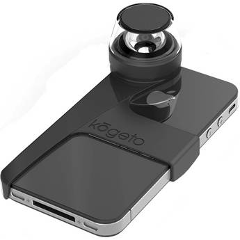 Kogeto Pitch Black Dot iCONIC iPhone 4 / 4S 360° Camera Lens