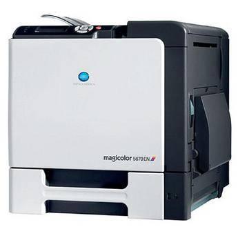 Konica Minolta magicolor 5670EN Network Color Laser Printer