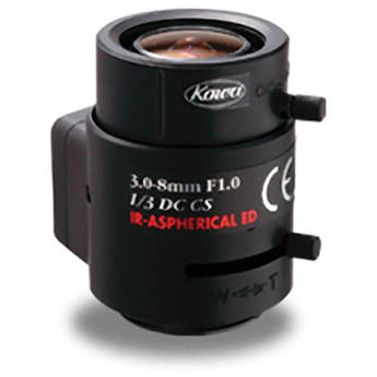 "Kowa LMVZ38A-IR 1/3"" 3 to 8mm Day & Night Lens (IR)"