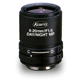 "Kowa LMVZ9020-IR 1/2"" f/1.6 HD-Multi-Megapixel Lens for CCTV (9-20mm)"