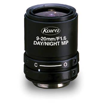 "Kowa LMVZ9020-IR 1/2"" f/1.6 HD-Multi-Megapixel Lens for CCTV (9-20mm)"