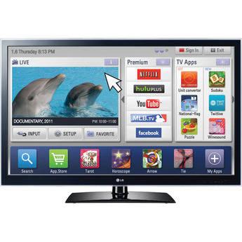"LG 55LW5600 55"" 1080p 3D LED TV"