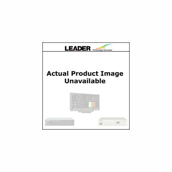 Leader 5 User Selected Test Patterns Added for LG3810 with DVB-T Option