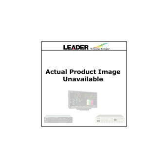 Leader 5 User Selected Test Patterns Added for LG3810 with JP Option