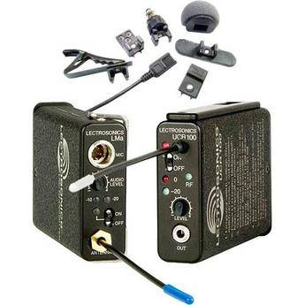 Lectrosonics 100 Series - Wireless UHF Lavalier Microphone System