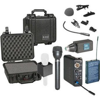 Lectrosonics 100 Series Wireless Microphone Deluxe Kit (Frequency Block 25)