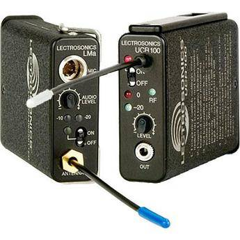 Lectrosonics 100 Series - Wireless UHF Lavalier Microphone System (Frequency Block 26)